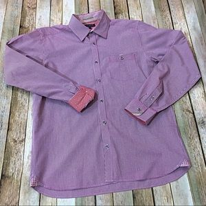 Ted Baker London Button Down Shirt - Size 4 (L)